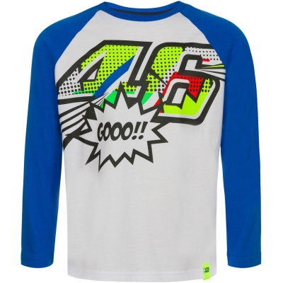 Valentino Rossi VR46 triko POP ART dětské blue/white