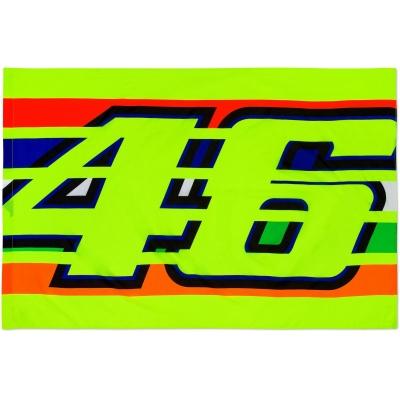 Valentino Rossi VR46 vlajka STRIPES yellow