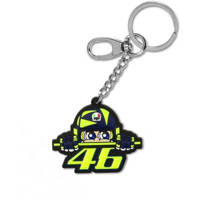 Valentino Rossi VR46 klíčenka CUPOLINO black/yellow