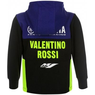 Valentino Rossi VR46 mikina YAMAHA VR46 dětská black/blue