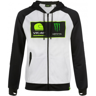 Valentino Rossi VR46 mikina RIDERS ACADEMY white/black