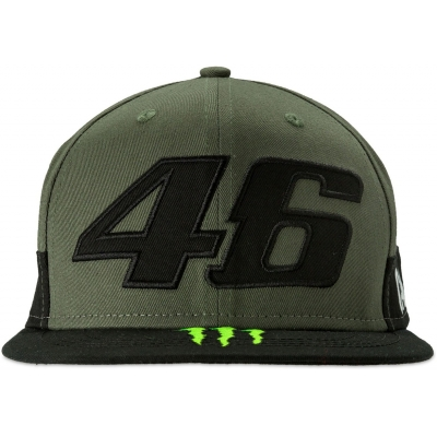 VR46 kšiltovka MONSTER CAMP green