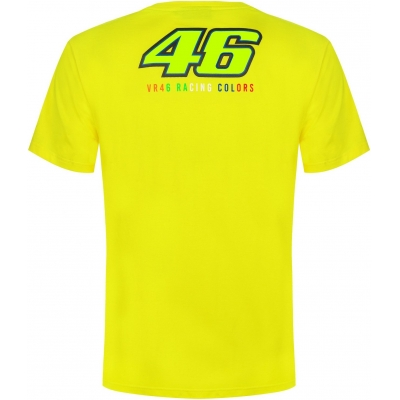 Valentino Rossi VR46 tričko THE DOCTOR yellow