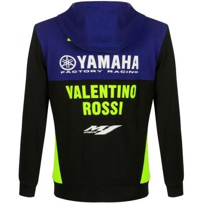 Valentino Rossi VR46 mikina YAMAHA VR46 black/blue/yellow