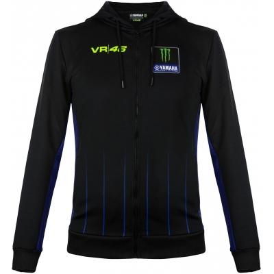 Valentino Rossi VR46 mikina YAMAHA BLACK black/blue