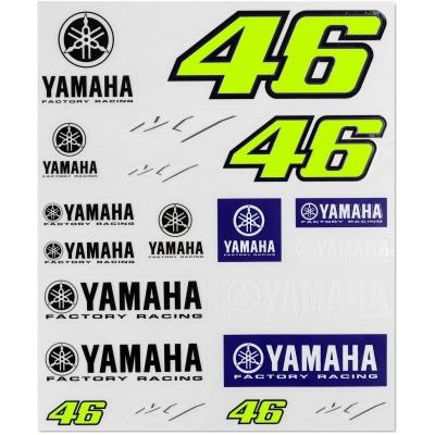 Valentino Rossi VR46 nálepky YAMAHA RACING