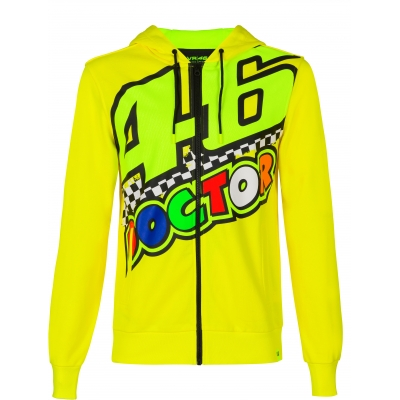 Valentino Rossi VR46 mikina 46 THE DOCTOR yellow