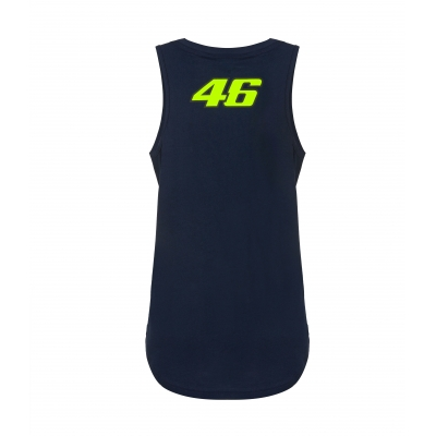Valentino Rossi VR46 tílko STREET ART dámské blue
