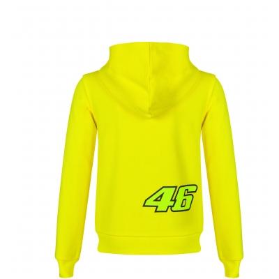 Valentino Rossi VR46 mikina 46 THE DOCTOR dětská yellow