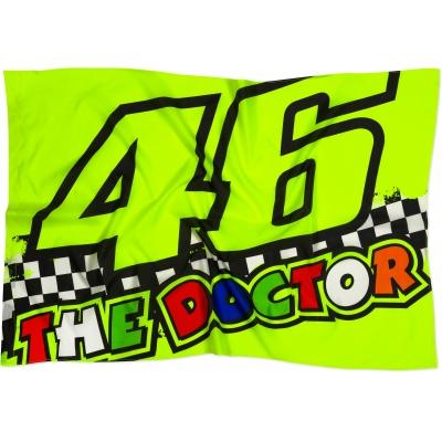 Valentino Rossi VR46 vlajka RACE multicolor