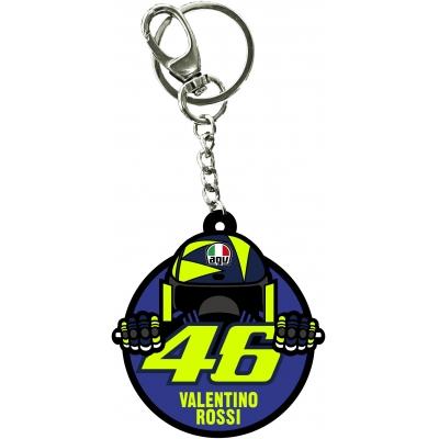 Valentino Rossi VR46 klíčenka CUPOLINO multicolor