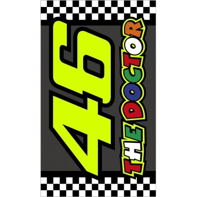 Valentino Rossi VR46 osuška RACE multicolor