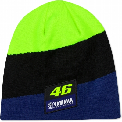 Valentino Rossi VR46 čepice RACING blue/black/neon yellow