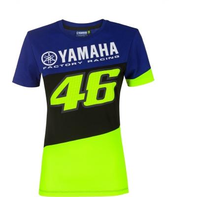 Valentino Rossi VR46 triko RACING dámské blue royal