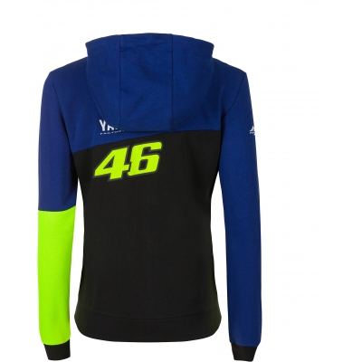 Valentino Rossi VR46 mikina RACING dámské blue royal