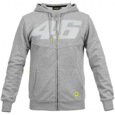 Valentino Rossi VR46 mikina CORE Binder melange grey