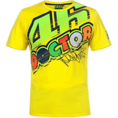 VR46 triko DOCTOR yellow
