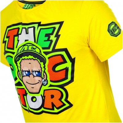 VR46 triko THE DOCTOR yellow