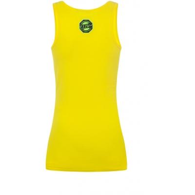 VR46 tílko 46 VALEYELLOW dámské yellow