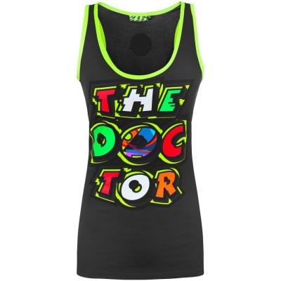 VR46 tílko THE DOCTOR dámské black