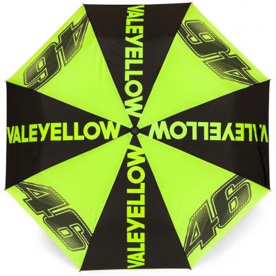 VR46 deštník VALEYELLOW 46 black/yellow