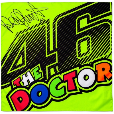 VR46 šátek THE DOCTOR 46 yellow