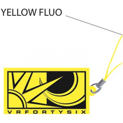 VR46 klíčenka VRFORTYSIX yellow fluo