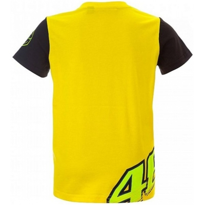 VR46 triko DOCTOR 46 dětské yellow/black
