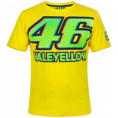 VR46 triko 46 VALEYELLOW yellow