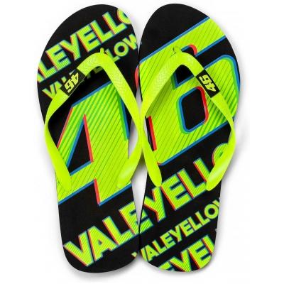 VR46 žabky VALEYELLOW46 yellow/black