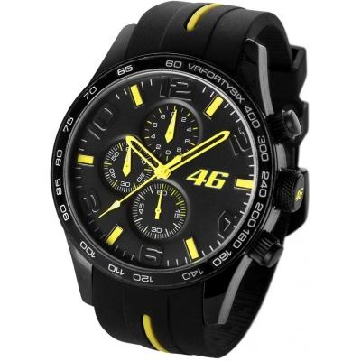 VR46 hodinky CRONOGRAPH black