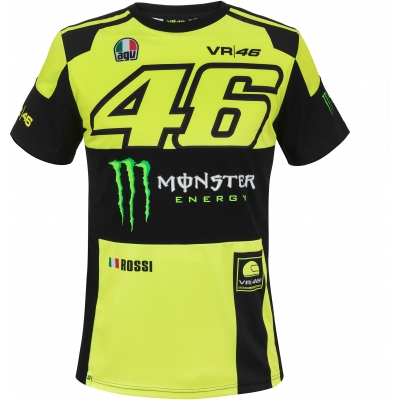 VR46 triko REPLICA fluo/yellow