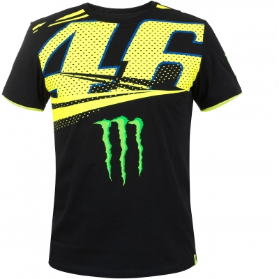 Valentino Rossi VR46 tričko MONZA black