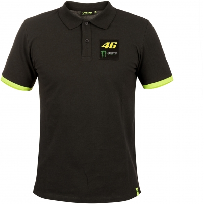 VR46 polo triko DUAL dark grey