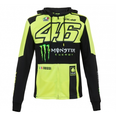 VR46 mikina REPLICA fluo yellow