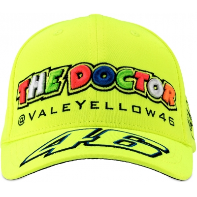 VR46 šiltovka CLASSIC fluo yellow