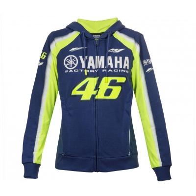 Valentino Rossi VR46 mikina YAMAHA FULL ZIP HOODIE dámská navy