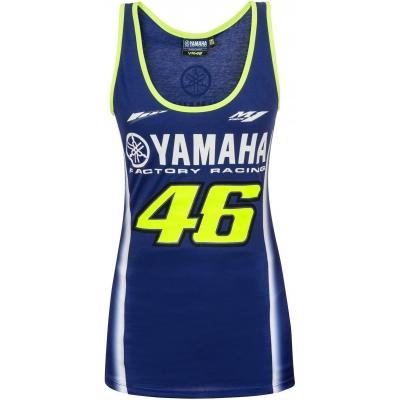 Valentino Rossi VR46 triko YAMAHA TANK TOP dámské navy
