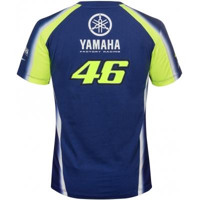 Valentino Rossi VR46 triko YAMAHA navy