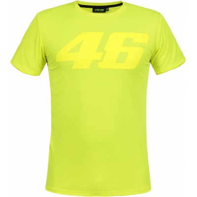 VR46 triko CORE VR46 yellow fluo
