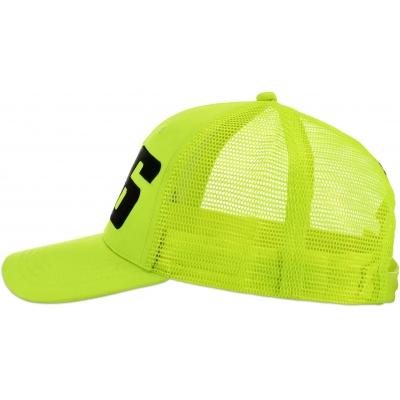 VR46 kšiltovka ADJ CORE yellow fluo