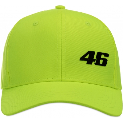 VR46 kšiltovka CORE yellow fluo