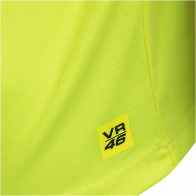 VR46 triko CORE yellow fluo
