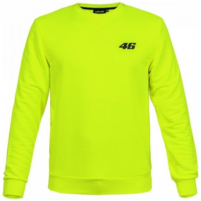 VR46 mikina CORE yellow fluo