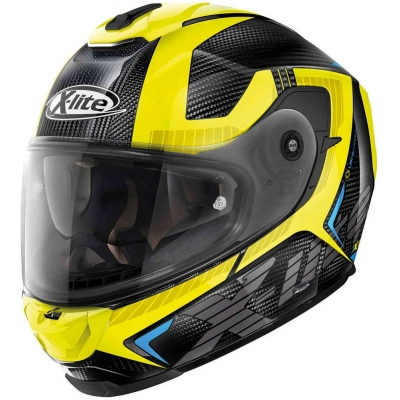 X-LITE přilba X-903 UC Evocator carbon/yellow