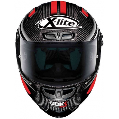 X-LITE přilba X-803 RS UC SBK carbon/red/white