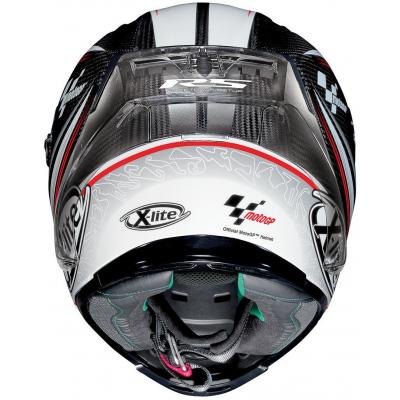 X-LITE prilba X-803 RS UC Moto GP carbon / white