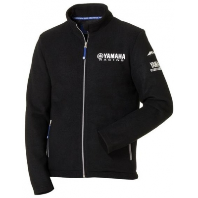 YAMAHA mikina PADDOCK 18 Fleece black