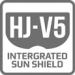 Sluneční clona HJ-V5