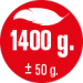 A01f HMOTNOST 1.400 g